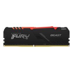 Kingston Technology - FURY Beast RGB mdulo de memoria 8 GB 1 x 8 GB DDR4 3200 MHz