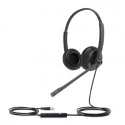 Yealink - UH34 Lite Auriculares Diadema Negro - UH34-LITE-DUAL-UC
