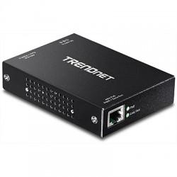 Trendnet - TPE-E100 repetidor y transceptor 800 Mbit/s Negro