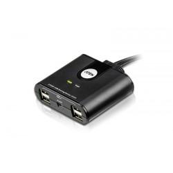 Aten - Switch de perifricos USB 20 de 2 x 2 puertos