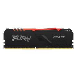 Kingston Technology - FURY Beast RGB mdulo de memoria 32 GB 1 x 32 GB DRAM 3200 MHz