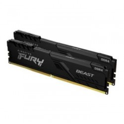 Kingston Technology - 16GB DDR4-2666MHZ CL16 DIMM    MEM KIT OF 2 FURY BEAST BLACK