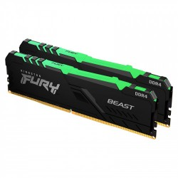 Kingston Technology - 16G 3200MH DDR4DIMM Kit2 FURYBeast RG