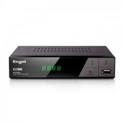 Engel Axil - RT7130T2 descodificador para televisor Cable Full HD Negro