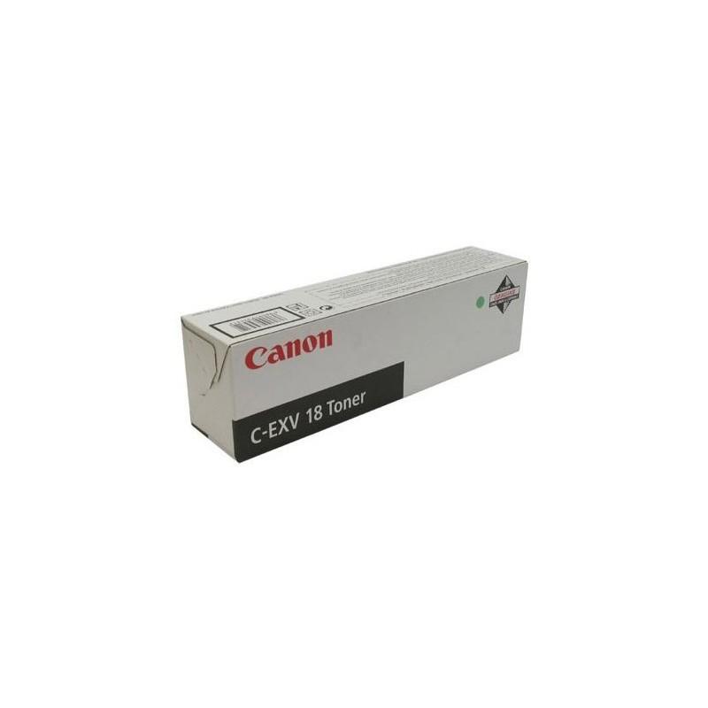 Canon - Toner C-EVX 18 for iR1018/iR1022 Black Original Negro 1 piezas