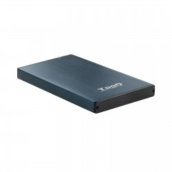 TooQ - TQE-2527PB caja para disco duro externo Caja de disco duro HDD Negro Marina 25