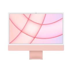 Apple - iMac 61 cm 24 4480 x 2520 Pixeles Apple M 8 GB 256 GB SSD PC todo en uno macOS Big Sur Wi-Fi 6 80211ax - MJVA3Y/A