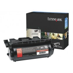 Lexmark - T640 T642 T644 High Yield Print Cartridge Original Negro