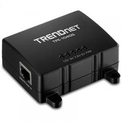 Trendnet - TPE-104GS divisor de red Negro Energa sobre Ethernet PoE