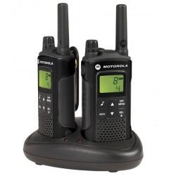 Motorola - XT180 two-way radios 8 canales 446 MHz Negro