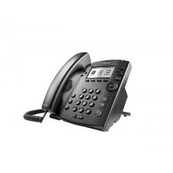 POLY - 311 telfono IP Negro 6 lneas LCD
