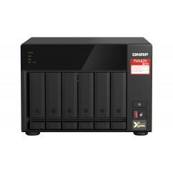 QNAP - TVS-675 NAS Torre Ethernet Negro KX-U6580