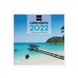Finocam - Calendario Imgenes de Pared 30x30 para Escribir 2022 - 780304022