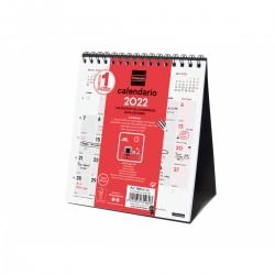 Finocam - Calendario Neutro de Sobremesa para Escribir 2022