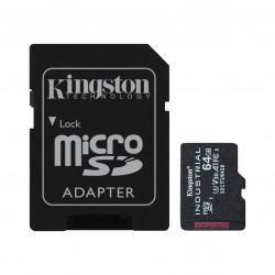 Kingston Technology - Industrial memoria flash 64 GB MicroSDXC UHS-I Clase 10 - SDCIT2/64GB