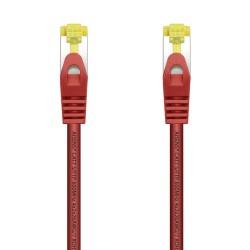 AISENS - Cable De Red Latiguillo RJ45 LSZH Cat7 600 MHz S/FTP PIMF AWG26 Rojo 10 m