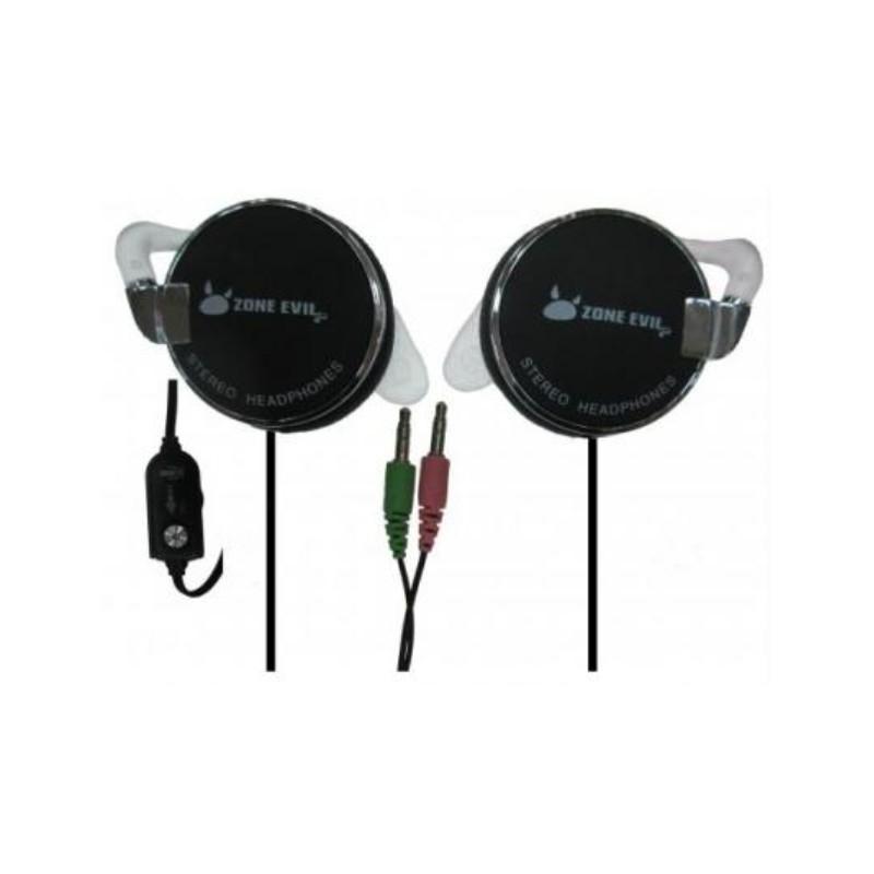 ZE - -XPORT-BLACK auricular y casco Auriculares gancho de oreja Conector de 35 mm Negro