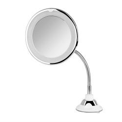 Orbegozo - ESP 1020 espejo para maquillaje Ventosa Alrededor Plata Blanco