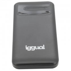 iggual - IGG317105 batera externa Polmero de litio 10000 mAh Gris