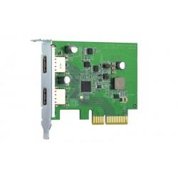 QNAP - QXP-10G2U3A tarjeta y adaptador de interfaz Interno USB 32 Gen 2 31 Gen 2