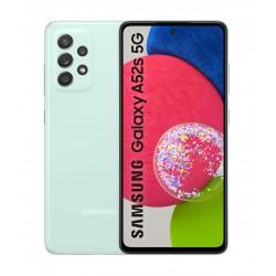 Samsung - Galaxy A52s 5G SM-A528B 165 cm 65 Ranura hbrida Dual SIM Android 11 USB Tipo C 6 GB 128 GB 4500 mAh Color menta