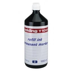 Edding - T 1000 recambio para marcador Azul 1000 ml 1 piezas