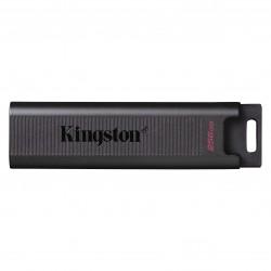 Kingston Technology - DataTraveler Max unidad flash USB 256 GB USB Tipo C 32 Gen 2 31 Gen 2 Negro
