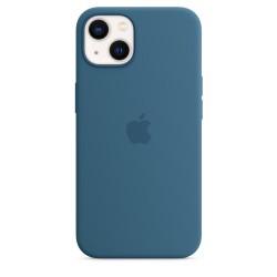 Apple - iPhone 13 Silicone Case with MagSafe  Blue Jay 194252780831 funda para telfono mvil 155 cm 61 Funda blanda Azul