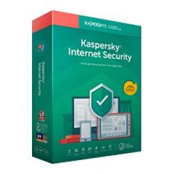 Kaspersky Lab - Internet Security 2020 Licencia completa 1 licencias 2 aos - KL1939SCADR