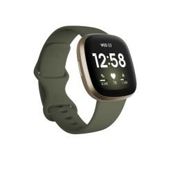 Fitbit - Versa 3 AMOLED Oro GPS satlite - FB511GLOL