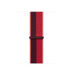 Apple - ML8F3ZM/A accesorio de smartwatch Grupo de rock Rojo Nylon