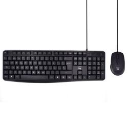 Ewent - EW3006 teclado USB QWERTY Espaol Negro