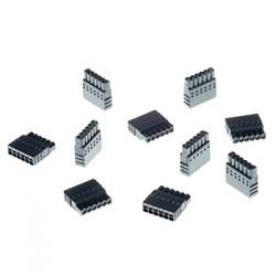 Axis - 5505-271 conector A 6-pin 25 Negro