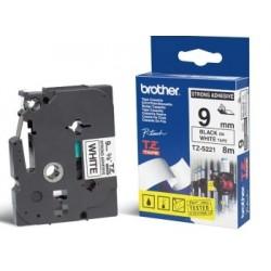 Brother - TZ-S221 cinta para impresora de etiquetas Negro sobre blanco