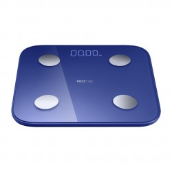 realme - Smart Scale Rectngulo Azul Bscula personal electrnica - 6941399014855