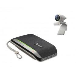 POLY - Studio P5 Kit sistema de video conferencia 1 personass Sistema de vdeoconferencia personal - 2200-87150-025
