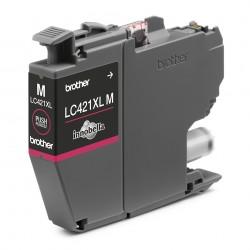 Brother - LC-421XLM cartucho de tinta 1 piezas Original Alto rendimiento XL Magenta