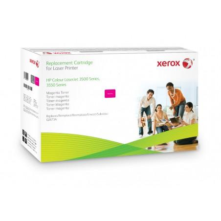Xerox - Cartucho de tner magenta Equivalente a HP Q2673A Compatible con HP Colour LaserJet 3500 Colour LaserJet 3550