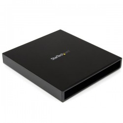 StarTechcom - Caja USB 30 para Unidad ptica CD DVD Slim Line 525 Pulgadas SATA Externa - Carcasa