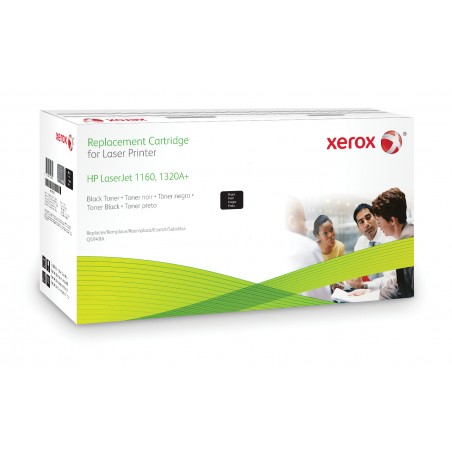Xerox - Cartucho de tner negro Equivalente a HP Q5949A Compatible con HP LaserJet 1160 LaserJet 1320