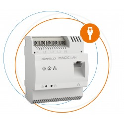 Devolo - Magic 2 LAN DINrail 2400 Mbit/s Ethernet Blanco 1 piezas