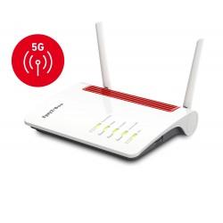 AVM - FRITZBox 6850 5G router inalmbrico Gigabit Ethernet Doble banda 24 GHz / 5 GHz 3G 4G Blanco
