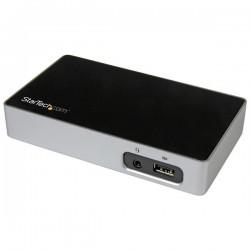 StarTechcom - Replicador de Puertos DisplayPort 4K a USB 30 para Ordenadores Porttiles