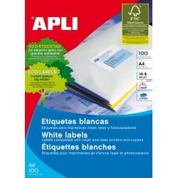 APLI - 01271 etiqueta de impresora Blanco
