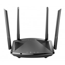 D-Link - DIR-X1550 router inalmbrico Gigabit Ethernet Doble banda 24 GHz / 5 GHz 5G Negro