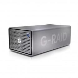 SanDisk - G-RAID 2 unidad de disco multiple 8 TB Escritorio Acero inoxidable