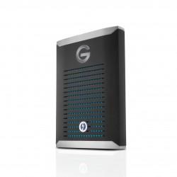 SanDisk - G-DRIVE PRO 500 GB Negro Acero inoxidable