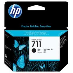 HP - 711 cartucho de tinta 1 piezas Original Alto rendimiento XL Negro