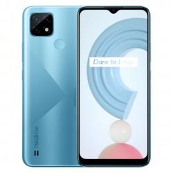 realme - C21 165 cm 65 SIM doble Android 100 4G MicroUSB 4 GB 64 GB 5000 mAh Azul