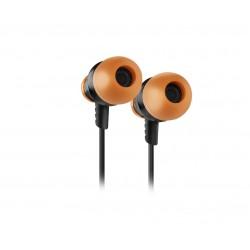 Krom - Kinear Auriculares Dentro de odo Conector de 35 mm Negro Naranja